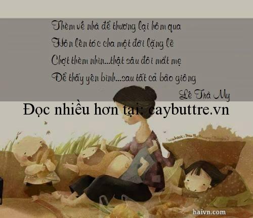 my - THÈM ĐƯỢC VỀ NHÀ - thơ Lê Trà My