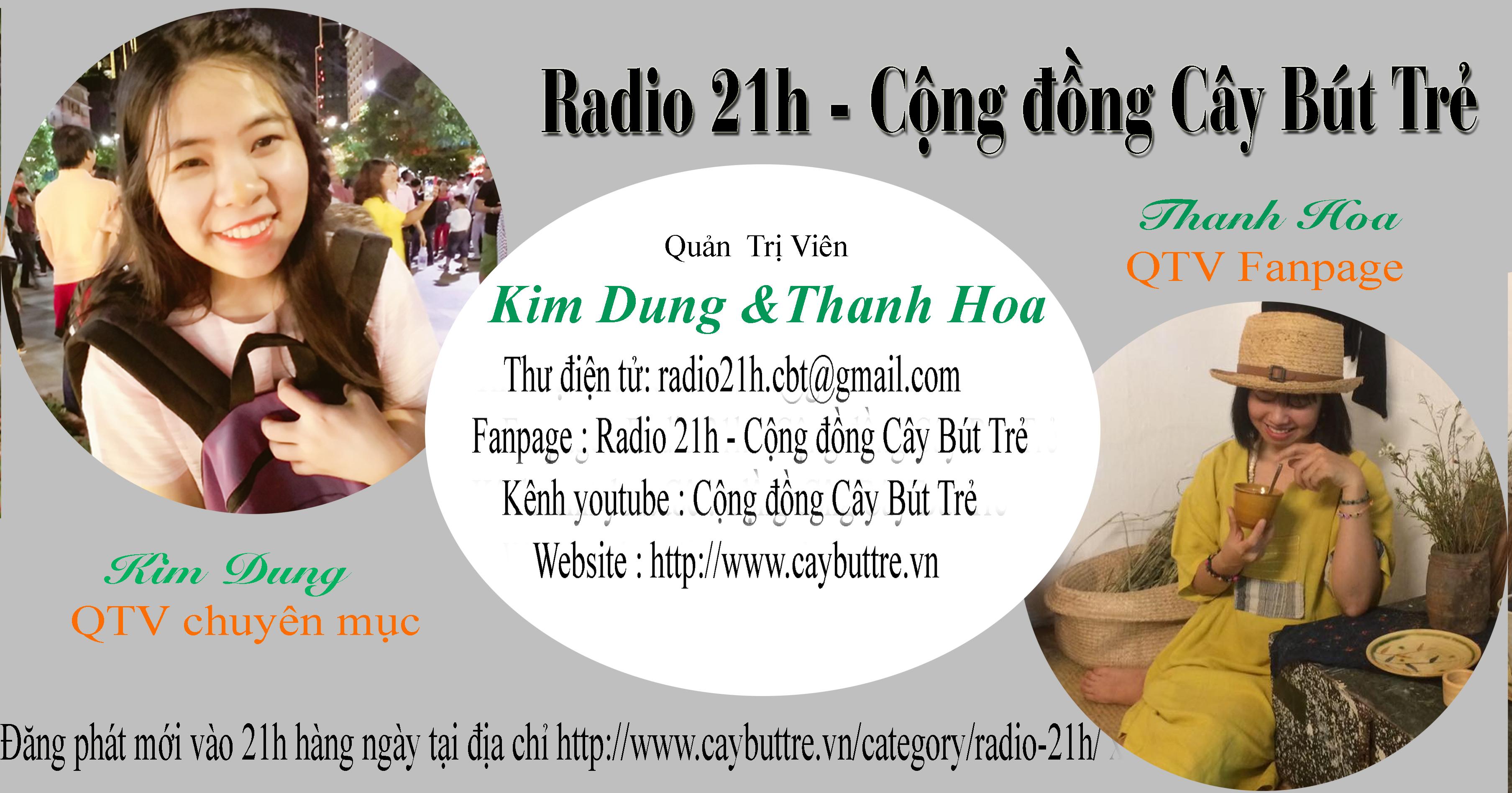 ddd - [Radio 21h] : Thông báo Quản Trị Viên phụ trách chuyên mục