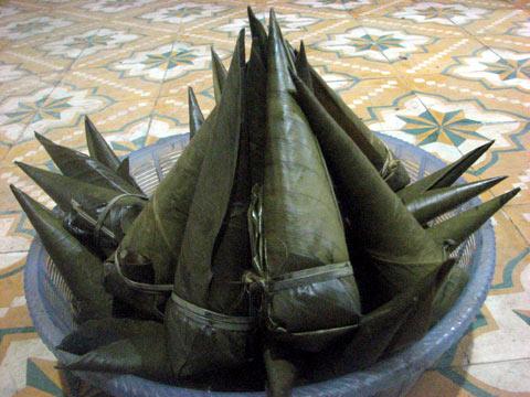 """nh 4 Bánh coóc mò của người Tày Nùng Cao Bằng - Đặc sắc Tết """"So lộc"""" của đồng bào dân tộc Tày - Nùng tại Cao Bằng"""