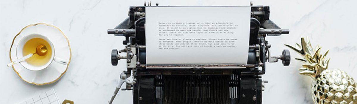 12 điều để viết khi bạn cạn ý tưởng