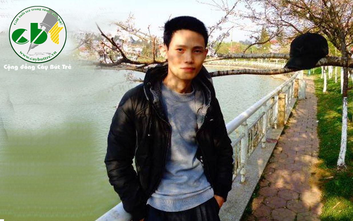 cay but tre pham xuan truong - Nhà thơ Phạm Xuân Trường - khách mời đặc biệt nhân dịp kỉ niệm một năm thành lập Cây Bút Trẻ
