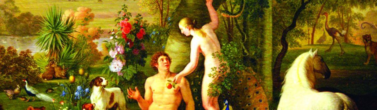 Adam, Eva, trái cấm vườn địa đàng và phê bình luân lí học văn học