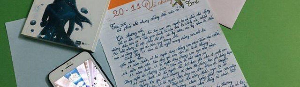 [20/11 và những lá thư tay]: Tại sao cứ phải nhớ nhung những điều đã cũ