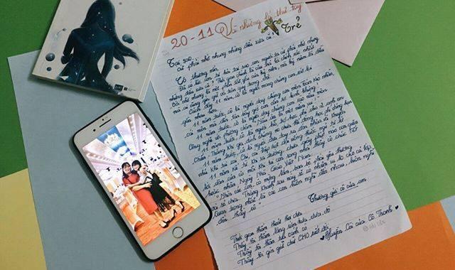 20 11 va nhung la thu tay - [20/11 và những lá thư tay]: Tại sao cứ phải nhớ nhung những điều đã cũ