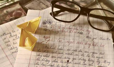 """20.11 xoai ca - [20/11 và những lá thư tay]: Gửi """"ba"""" - người nuôi dạy tuổi trẻ"""