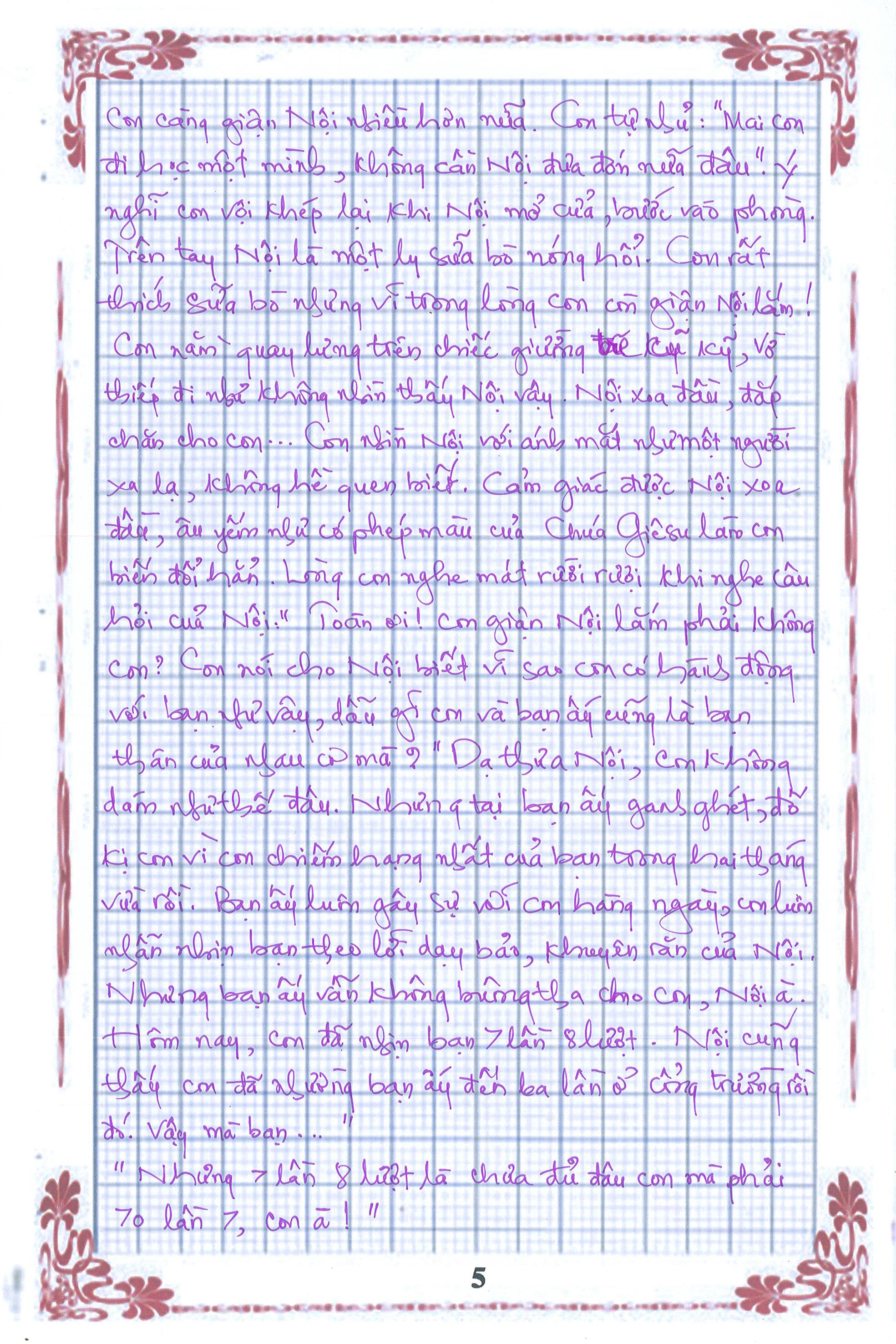 5 1 - [20/11 và những lá thư tay]: Bức thư mùa thu gửi Nội...