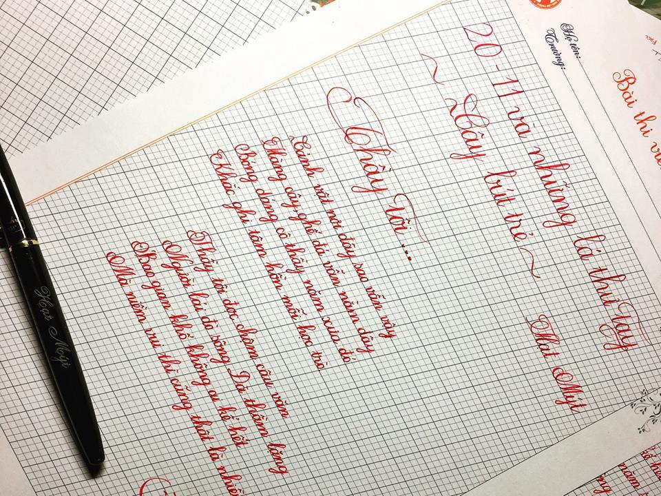 hm1 - [20/11 và những lá thư tay]: Thầy tôi - thơ Hạt Mýt