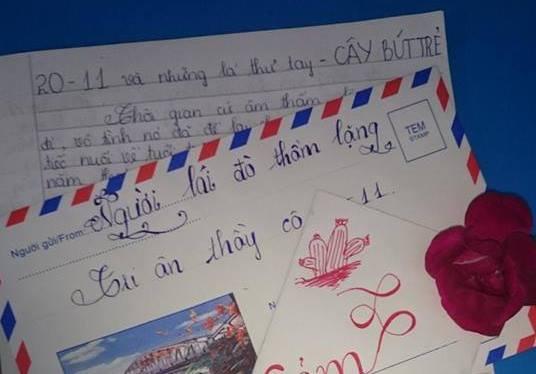 mn - [20/11 và những lá thư tay]: Lá thư gửi cô, em cảm ơn cô nhiều