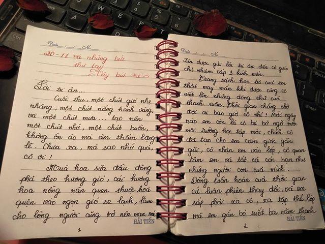 nkh - [20/11 và những lá thư tay]: Lời tri ân...
