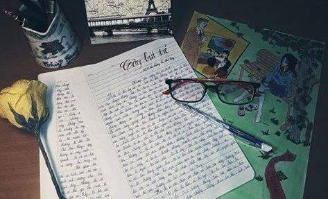 ntt - [20/11 và những lá thư tay]: Một lá thư tay viết vội