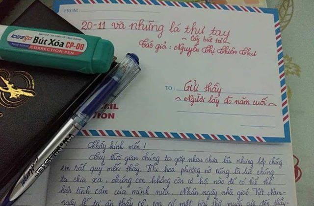 ntt20.11 - [20/11 và những lá thư tay]: Gửi thầy.. người lái đò năm cuối