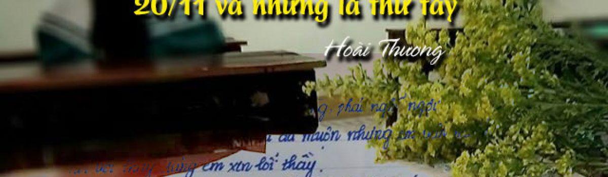 [20/11 và những lá thư tay]: Gửi thầy – người lá đò thầm lặng