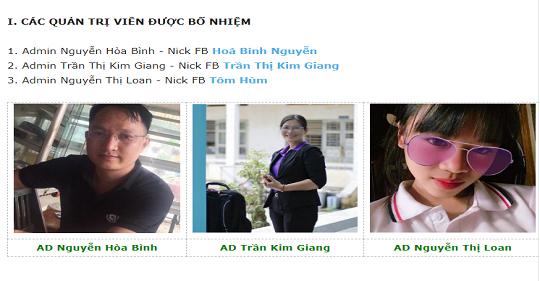 quan tri vien 16.9 - Các Quản trị viên mới trên Cây Bút Trẻ Group từ ngày 16/9/2019