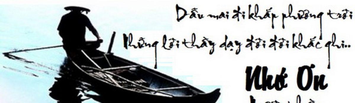 Con đò chở chữ – Tác giả Phạm Hùng