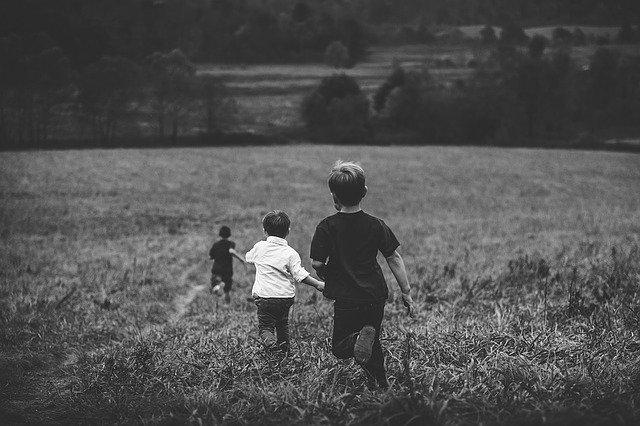 Những trưa hè túm năm tụm bảy dắt díu nhau, con gái thì chơi trò đuổi bắt, trốn tìm, chuyền chắt. Con trai thì đổ dế, úp cào cào.