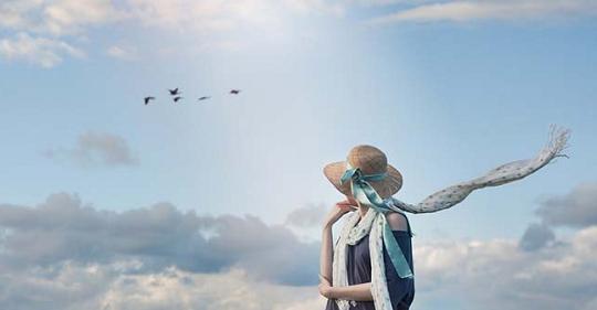 bay ve troi - Được bay về trời! - thơ Nguyễn Tâm Thanh