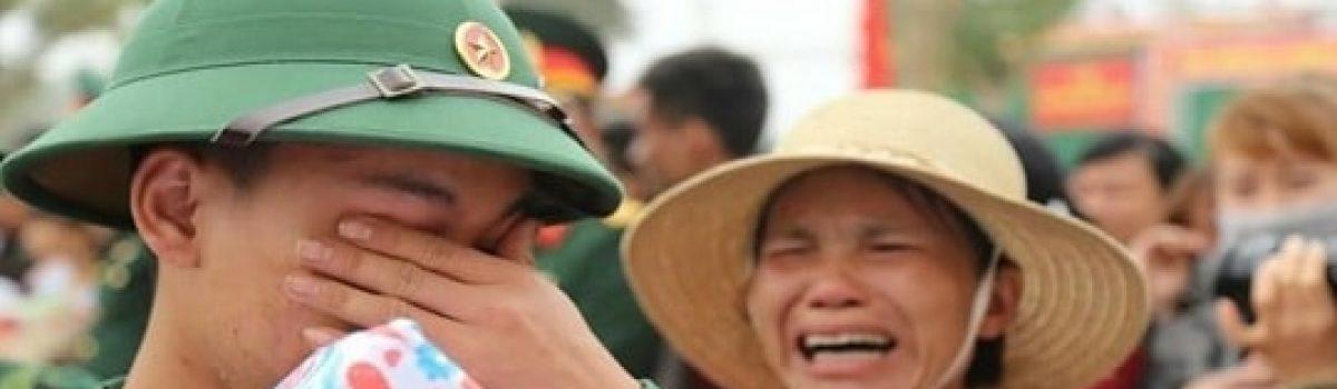 Xin đừng khóc cho những người nhập ngũ hôm nay!