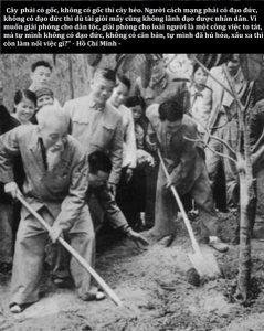 18 239x300 - Kỷ niệm 130 năm Ngày sinh Chủ tịch Hồ Chí Minh (1890-2020): Hồ Chí Minh - Người yêu thương tất cả, chỉ quên mình
