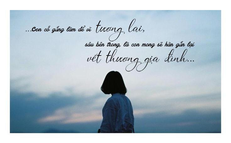 quote - Ngày ba đi - Nguyễn Hương