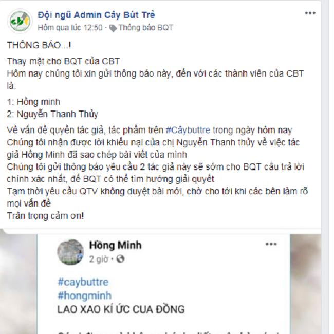 thong bao ve viec thanh vien hong minh vi pham quy dinh hoat dong 9 - Thông báo về việc thành viên Hồng Minh vi phạm quy định hoạt động