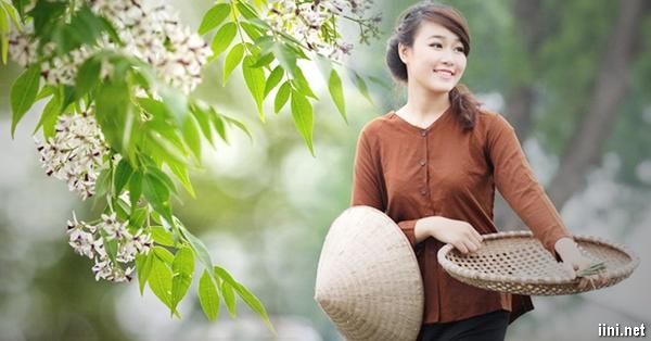 thơ hoa xoan hay - Tháng Ba em về - Thơ Hồng Lĩnh