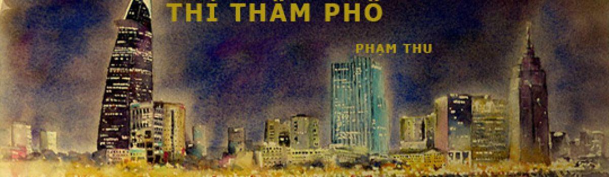 Thì thầm phố – Thơ Phạm Thu