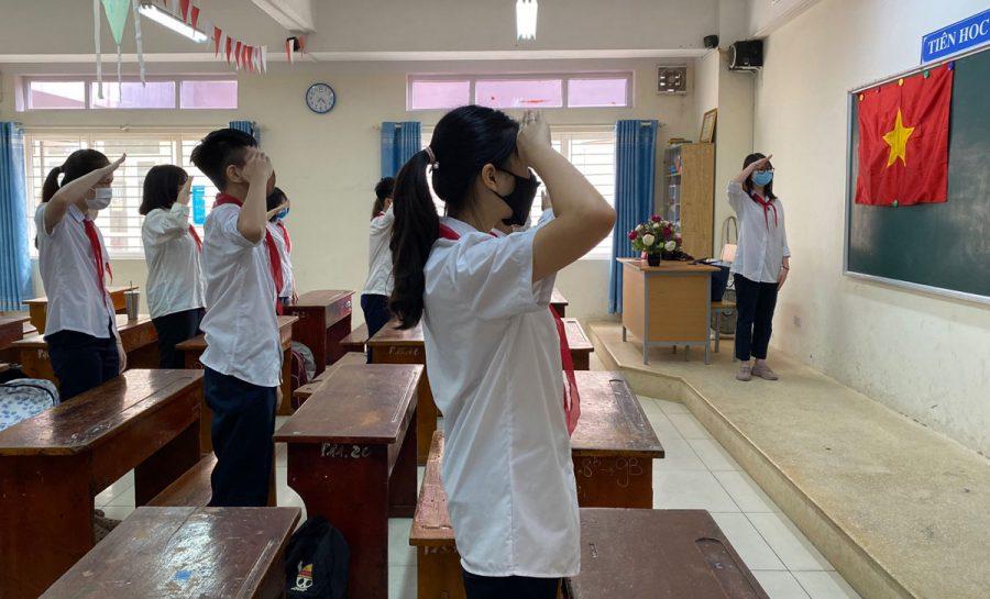 Ngày khai trường con tìm về – Thơ Hương Tràm